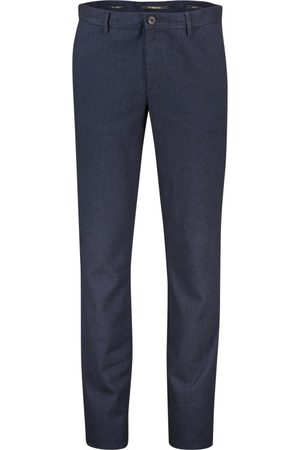 Alberto Donkerblauwe chino slim fit
