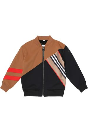 Burberry Jongens Sweaters - Technical-jersey track jacket