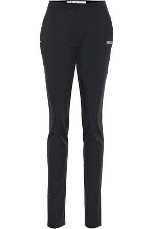OFF-WHITE Dames Slim & Skinny broeken - High-rise slim pants