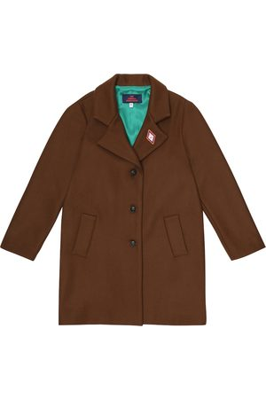 The Animals Observatory Jaguar wool-blend coat