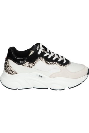 Hub Dames Sneakers - Rock Cheetah Off White Cheeta
