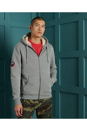 Superdry Heren Truien - Orange Label Winter hoodie met rits