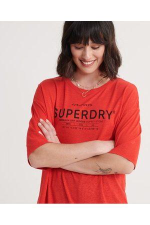Superdry Linnen Desert T-shirt