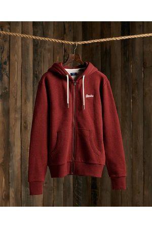 Superdry Orange Label klassieke hoodie met rits