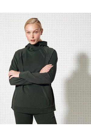 Superdry Sport Training hoodie met halflange rits voor over het hoofd