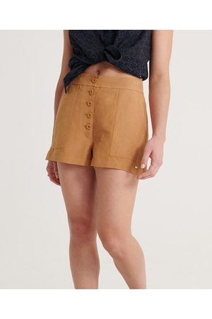 Superdry Linnen Eden short