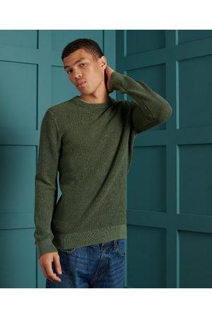 Superdry Geverfd Academy sweatshirt met ronde hals en textuur