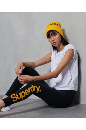 Superdry Core legging met logo en print