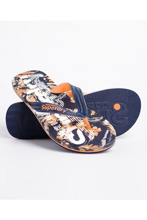 Superdry Scuba teenslippers met all-overprint