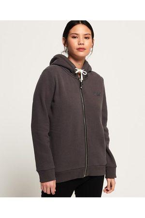 Superdry Orange Label Elite hoodie met rits