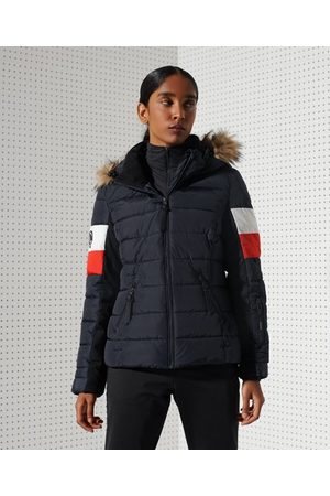 Superdry Sport Alpine Fur Luxe pufferjas