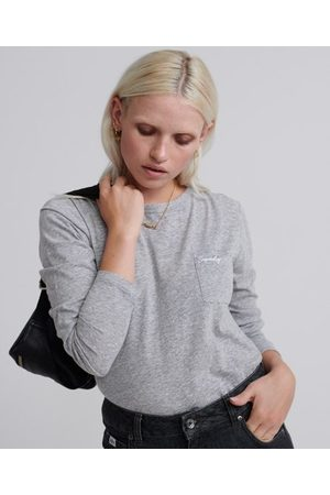Superdry Orange Label Essential top met lange mouwen