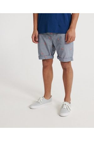 Superdry Geborduurde International chinoshort