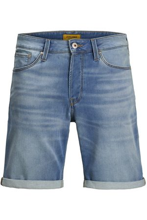 Jack & Jones Rick Icon Ge 003 Indigo Knit Denim Short Heren