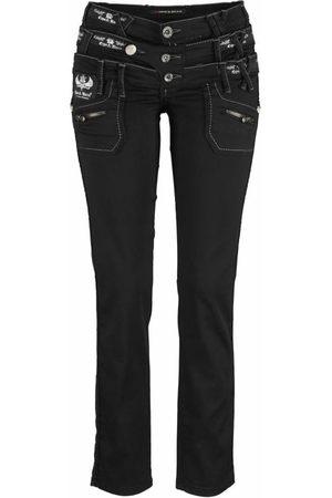 Cipo & Baxx Dames Bootcut - Jeans