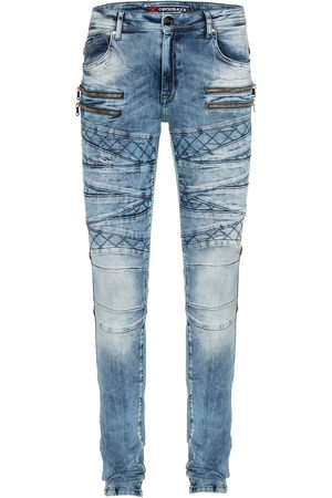 Cipo & Baxx Heren Straight - Jeans 'CD505