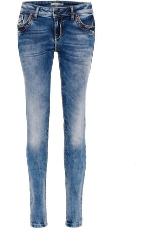 Cipo & Baxx Dames Straight - Jeans 'WD380
