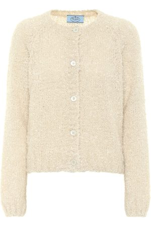 Prada Mohair, cashmere and silk cardigan