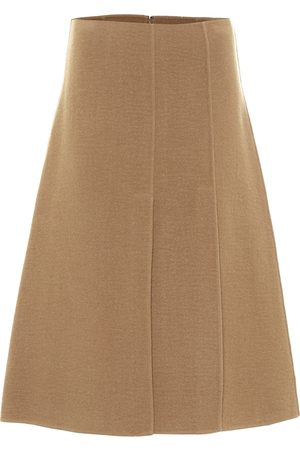 Joseph Sophie wool and cashmere midi skirt