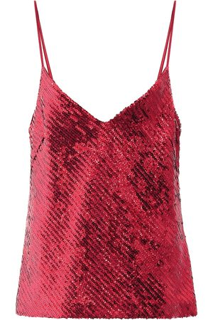 GALVAN Dames Tops - Exclusive to Mytheresa – Sequined camisole