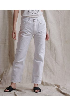 Superdry Dames High waisted - High Rise rechte jeans