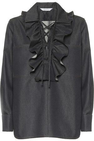 Max Mara Oriana denim shirt