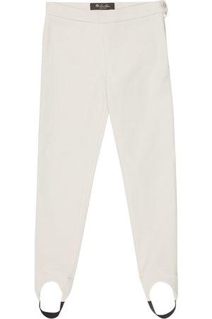 Loro Piana Karine stretch-cotton stirrup pants