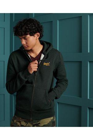 Superdry Klassieke Orange Label hoodie met rits