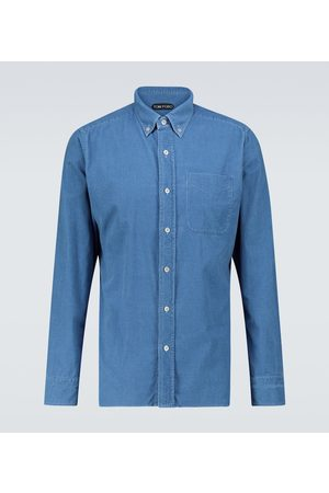 Tom Ford Long-sleeved corduroy shirt