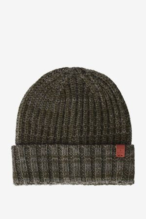 Bickley And Mitchell Bikcley and Mitchell beanie donkergroen