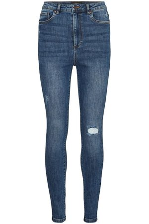 Vero Moda Dames High waisted - Vmloa High-waist Skinny Jeans Dames