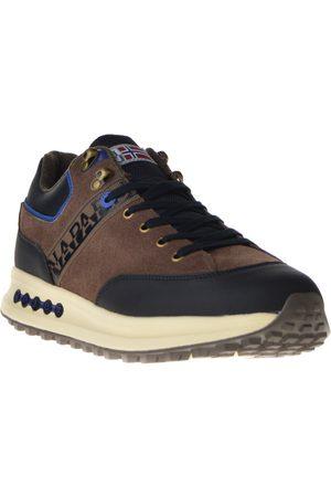 Napapijri Sneakers bruin combi