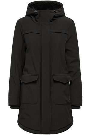 Only Solid Colored Parka Jacket Dames