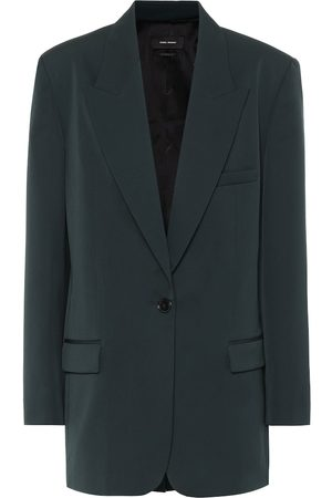 Isabel Marant Pika single-breasted wool blazer
