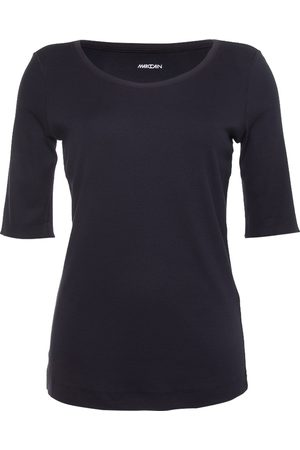 Marc Cain Dames Korte mouw - T-shirt Blauw +E 48.09 J50