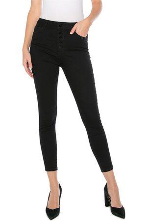 Hallhuber Dames Skinny - Jeans Zwart 0015070 NOS