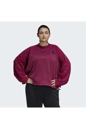 adidas Dames Sweaters - Z.N.E. Athletics Sweatshirt (Grote Maat)