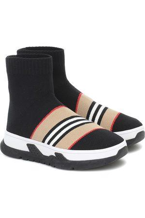 Burberry Jongens Sneakers - Icon Stripe sock sneakers