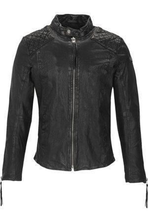 Tigha Heren Leren jas Nero (black)