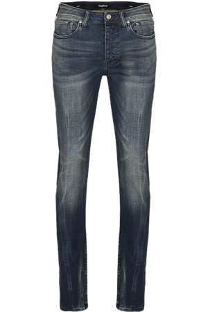 Tigha Heren Jeans Morty 9021 used (mid blue)