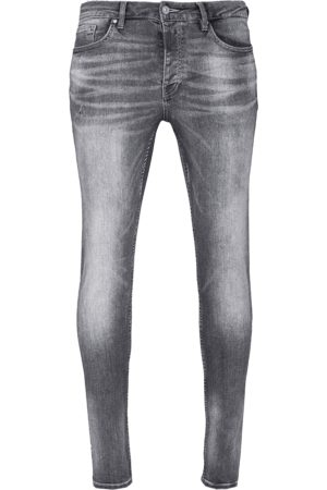 Tigha Heren Jeans Morty 7124 used (mid grey)