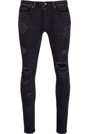 Tigha Heren Jeans - Heren Jeans Morten (vintage black ripped)