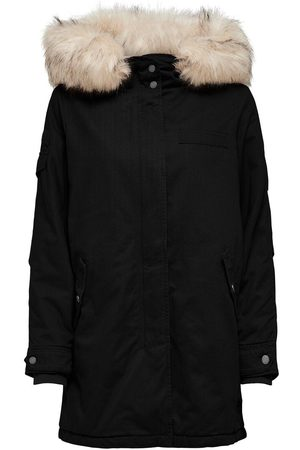 Only Canvas Parka Dames Zwart