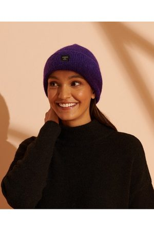 Superdry Dames Mutsen - Cult Studios Superluxe beanie