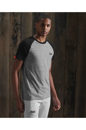 Superdry Orange Label Baseball T-shirt met korte mouwen