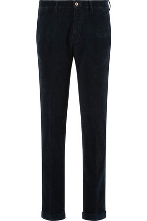 Masons Mason's Chino Heren Navy Corduroy