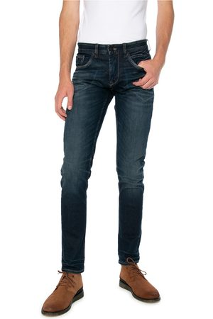 PME Legend Heren Straight - Jeans Blauw PTR150-DBD
