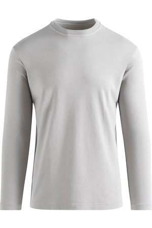 ALTEA T-Shirt Heren Lichtgrijs Cotton