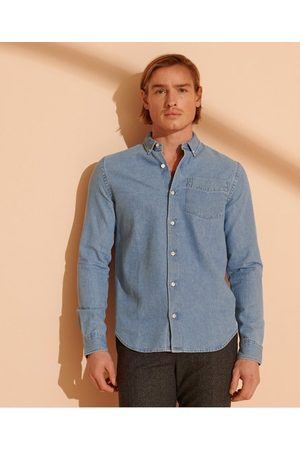 Superdry Classic Denim buttondown overhemd