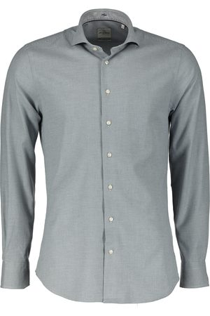 Jac Hensen Heren Overhemden - Overhemd - Slim Fit - Blau